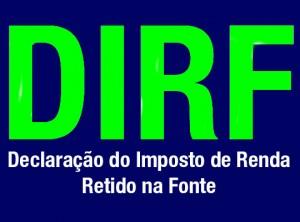 Artigo: Declaração do Imposto sobre a Renda Retido na Fonte – DIRF