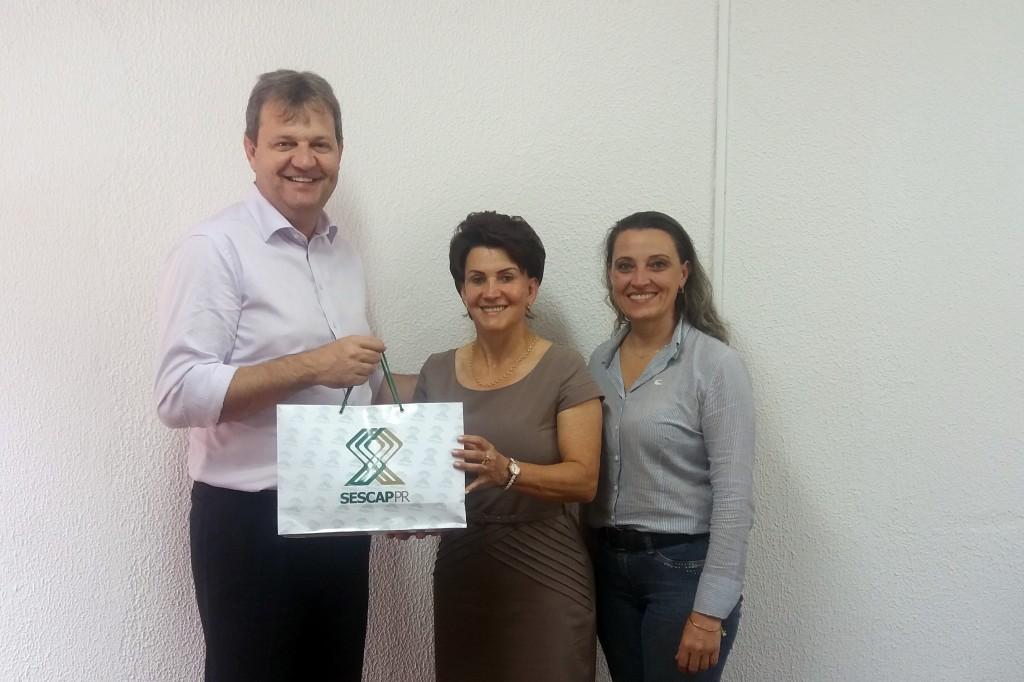 SESCAP-PR discute parceria com a Unicentro