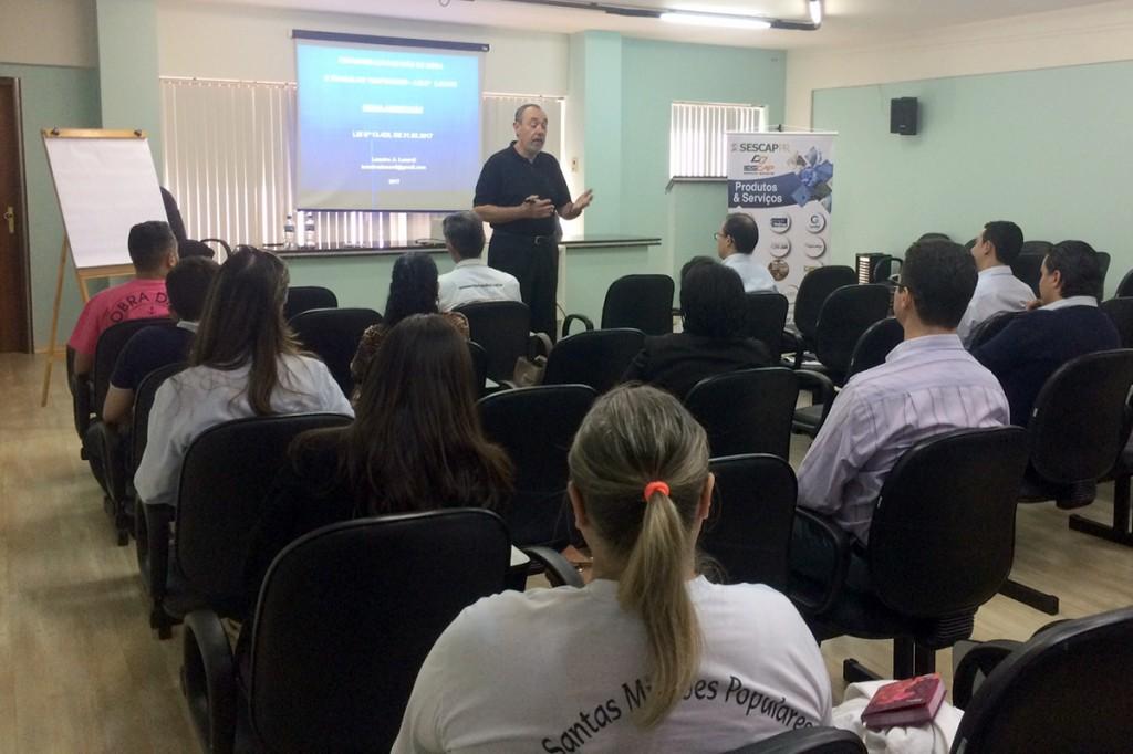 Terceirização de mão de obra é tema de curso em Maringá e Arapongas