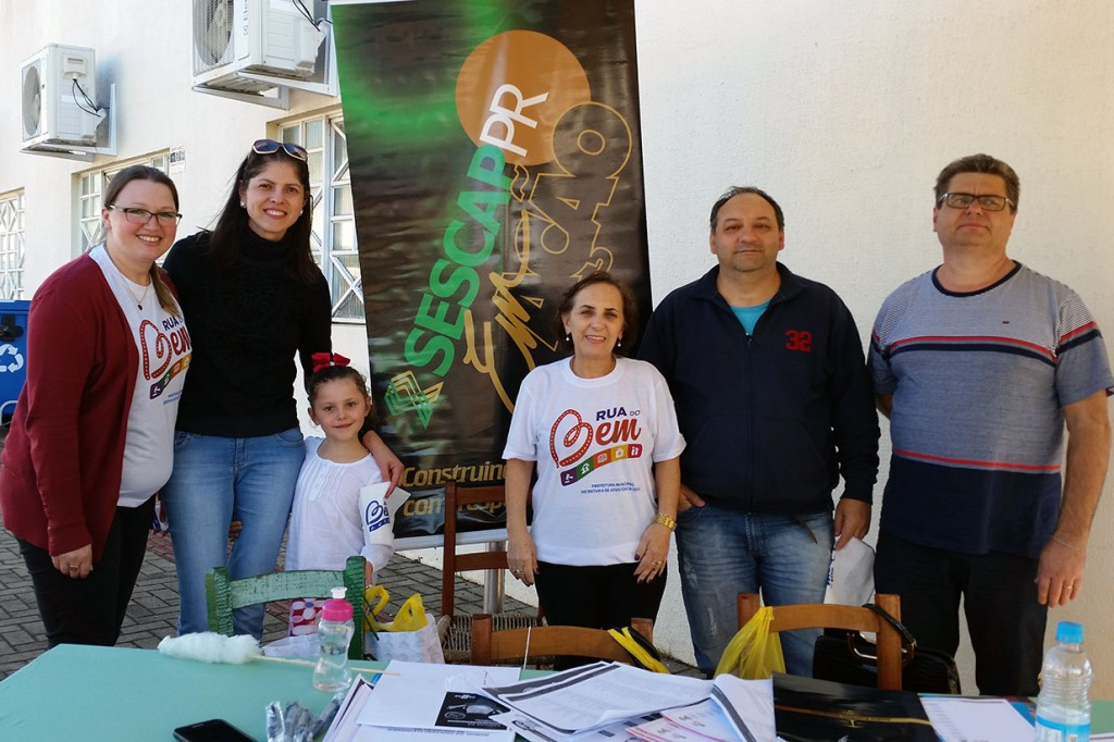 SESCAP-PR participa da Rua do Bem em Pato Branco