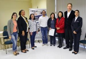 SESCAP-PR e Sicoob Foz do Iguaçu celebram parceria