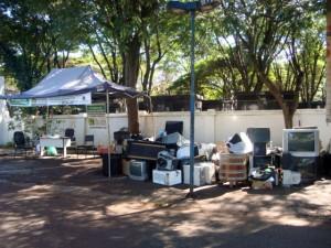 SESCAP-PR recolhe quase 5 toneladas de lixo eletrônico em Arapongas