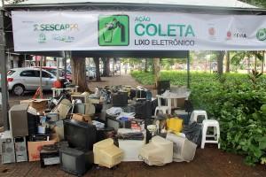 Campanha E-Lixo em Maringá arrecada quase 5 toneladas