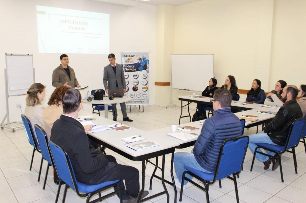 SESCAP-PR abre turma do Programa Especializar