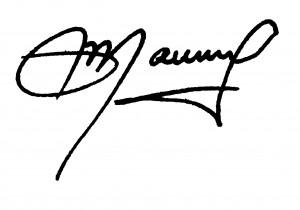 Assinatura Mauro Kalinke