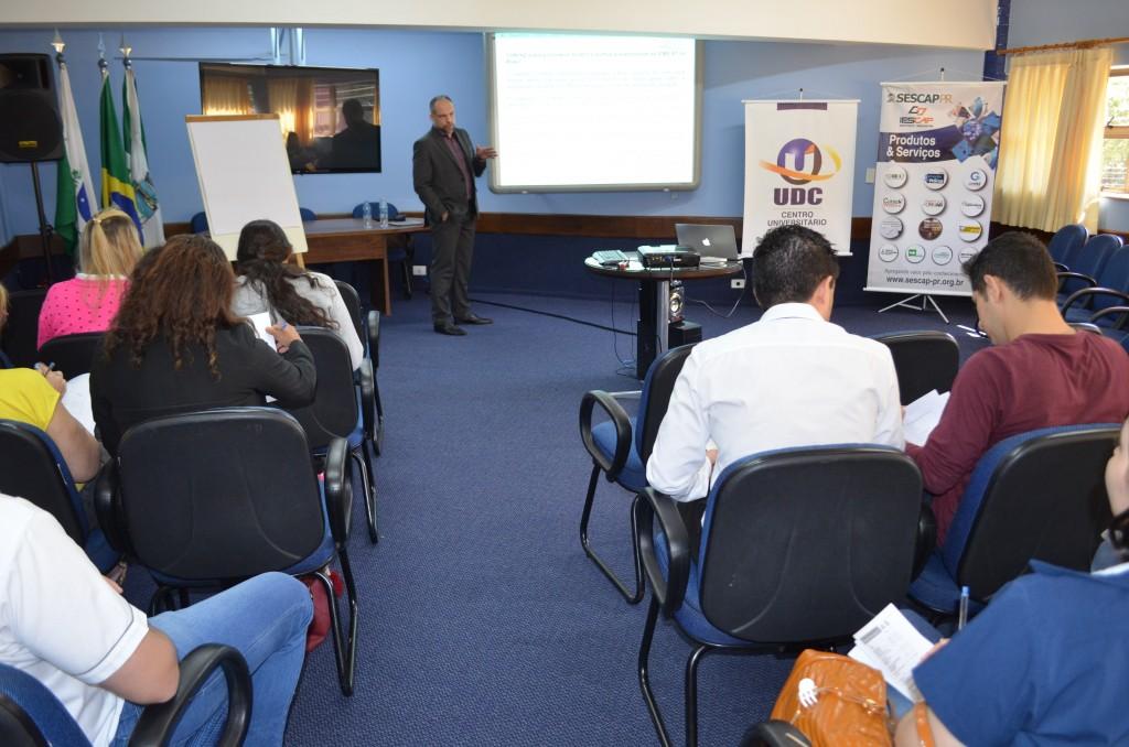 Substituição tributária é discutida em curso do SESCAP-PR em Foz do Iguaçu