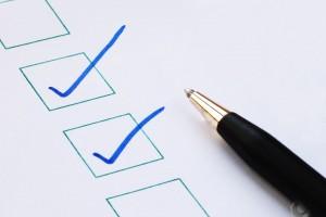 lista com dicas de controle financeiro