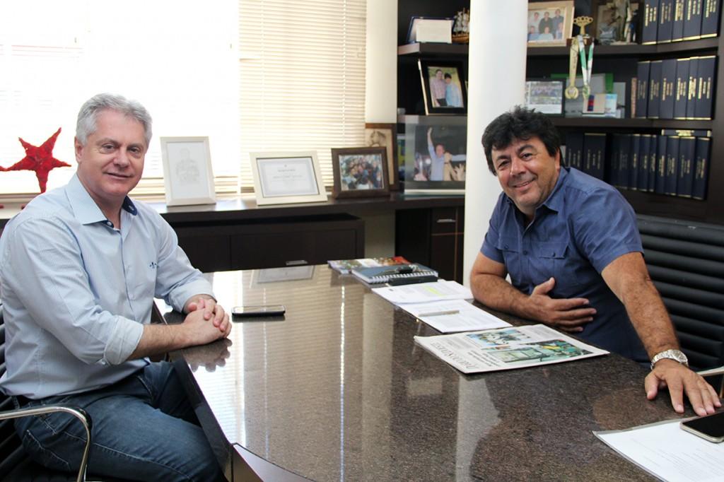 Kalinke se reúne com prefeito em exercício de Pato Branco