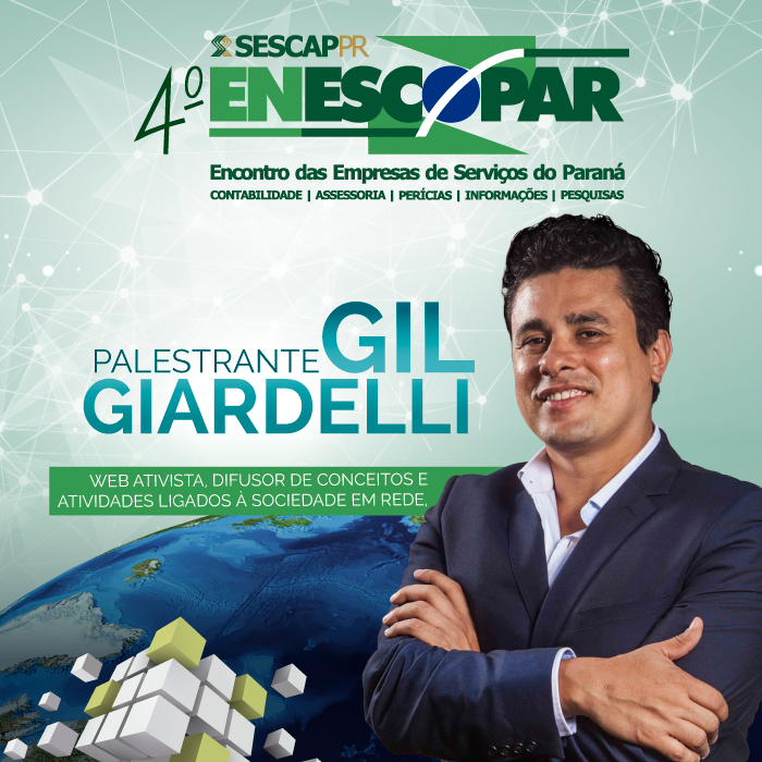 Gil Giardelli é palestrante do 4º Enescopar
