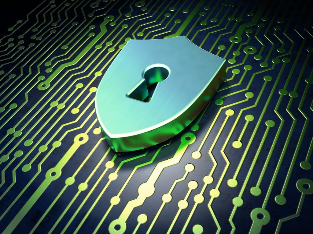 cadeado remetendo a segurança digital