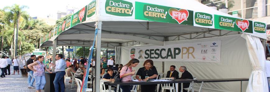 15ª edição da campanha Declare Certo é sucesso em todo o Paraná