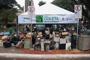 SESCAP-PR recolhe mais de 5 mil quilos de resíduos eletrônicos em Maringá