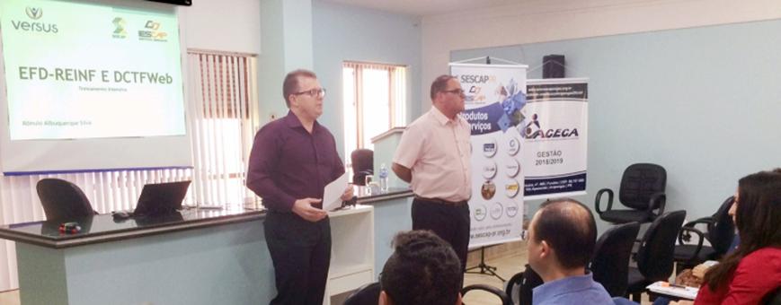 SESCAP-PR realiza curso em parceria com a ACECA