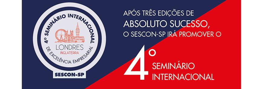 Participe do 4º Seminário Internacional de Excelência Empresarial em Londres