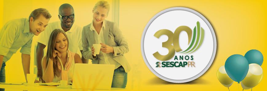 30 anos do SESCAP-PR: Catálogo de ações exclusivas ganha novos parceiros