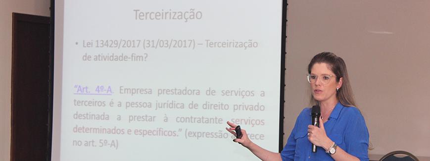 Detalhes da Reforma Trabalhista são apresentados em Curitiba