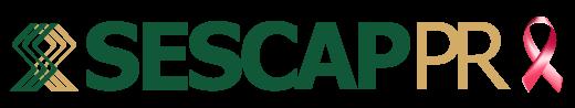 Logo outubro Rosa - SESCAP-PR