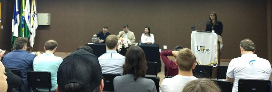 SESCAP-PR marca presença no Fórum Empresarial e Comunitário em Guarapuava