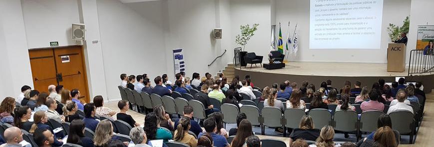SESCAP-PR participa do Fórum Empresarial da ACIC sobre eSocial