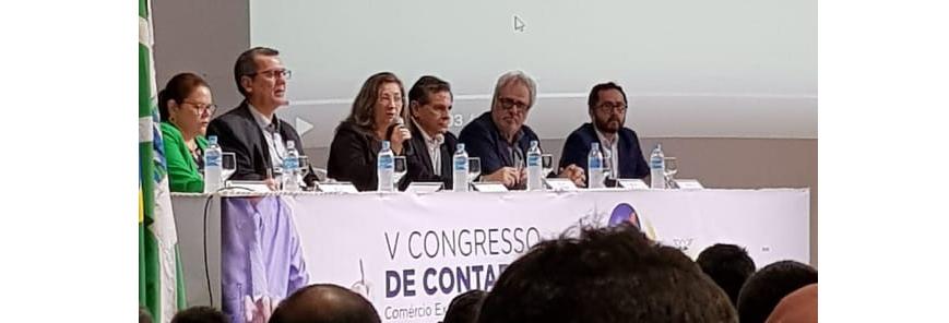 SESCAP-PR participa do V Congresso de Contabilidade realizado em Foz