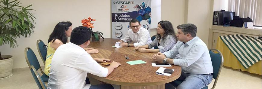 Diretores do SESCAP-PR e professores da UEM debatem o eSocial