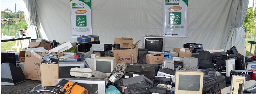 E-Lixo: neste sábado (10) tem recolhimento de lixo eletrônico em Curitiba