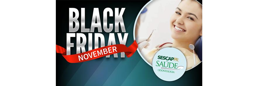 """SESCAP-PR lança campanha especial de """"Black November"""""""