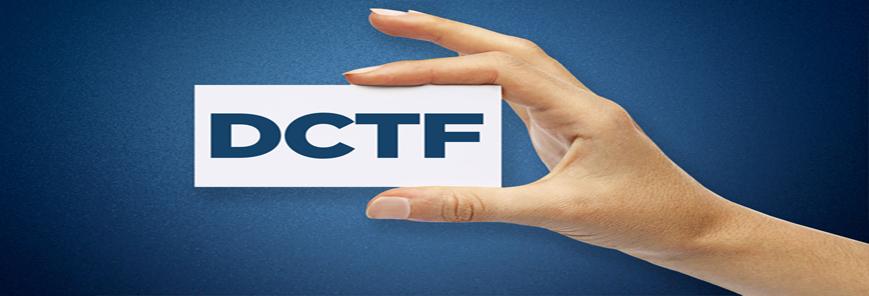 DCTF Mensal está disponível para download