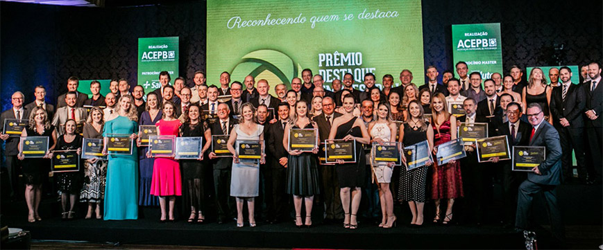 Eunice Cavali recebe Prêmio Destaque Empresarial 2018
