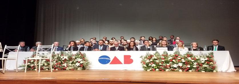 SESCAP-PR participa da solenidade de posse da OAB em Guarapuava