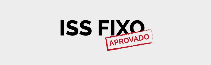 Conquista para categoria contábil: aprovado ISS Fixo em Cascavel