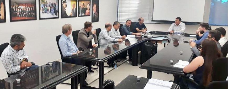 Representantes do SESCAP-PR participam de encontros empresariais em Cascavel