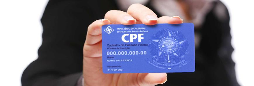 CPF facilita acesso a serviços públicos