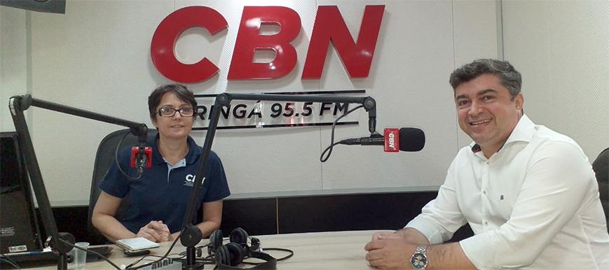 DIRPF 2019: Diretor do SESCAP-PR é entrevistado pela Rádio CBN Maringá