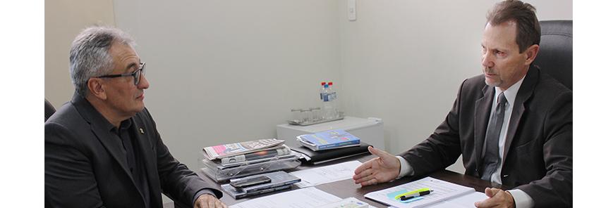 Representação: Alceu Dal Bosco visita presidente da Junta Comercial do Paraná