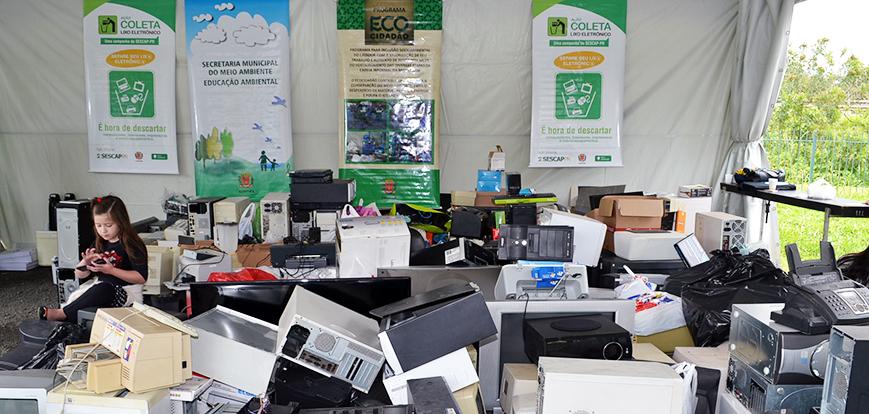 SESCAP-PR vai coletar lixo eletrônico em cinco cidades
