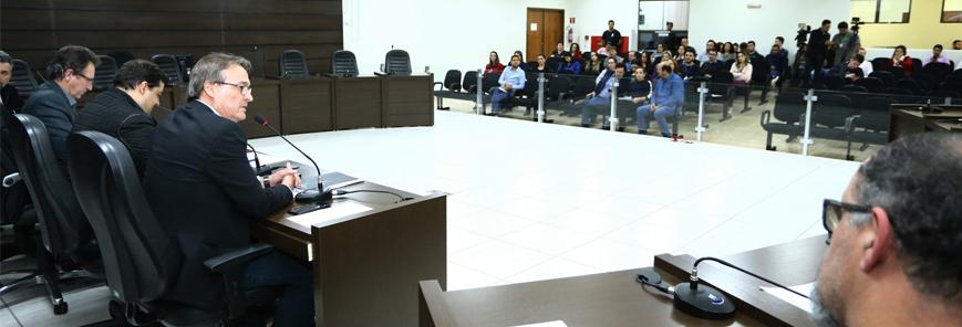 SESCAP-PR acompanha prestação de contas da Câmara e da Prefeitura de Cascavel