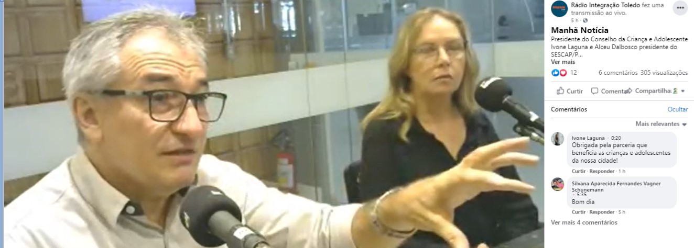 Alceu Dal Bosco fala sobre a campanha legal à Rádio Integração