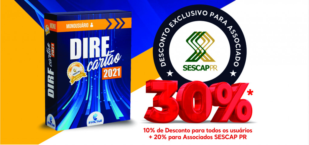Parceria garante 30% de desconto no DIRF Cartão 2021