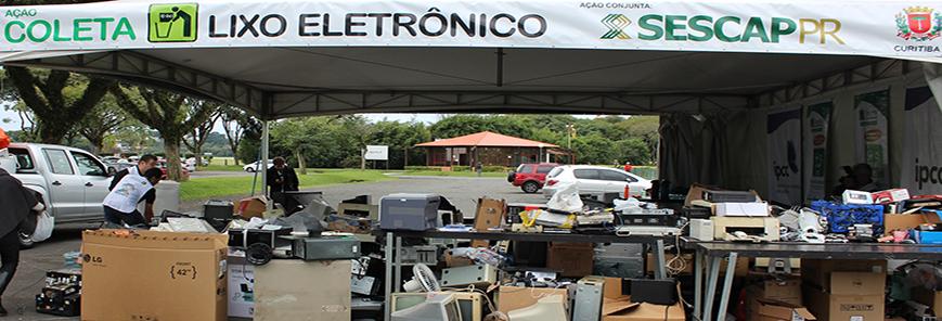 Guarapuava realiza campanha de recolhimento de lixo eletrônico