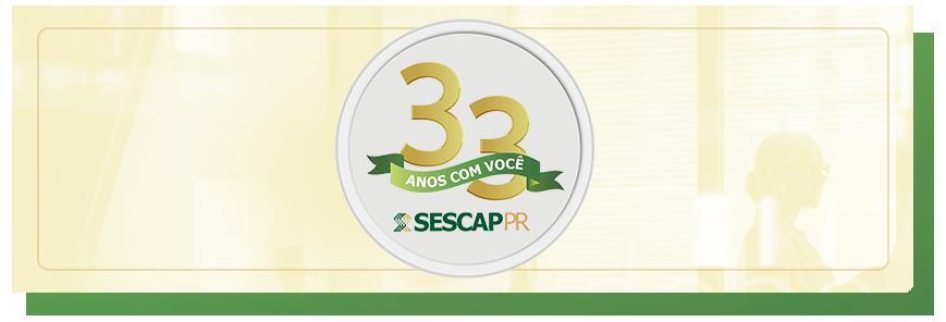 SESCAP-PR 33 anos: cursos com descontos especiais